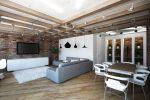 Дизайн интерьера: стиль лофт