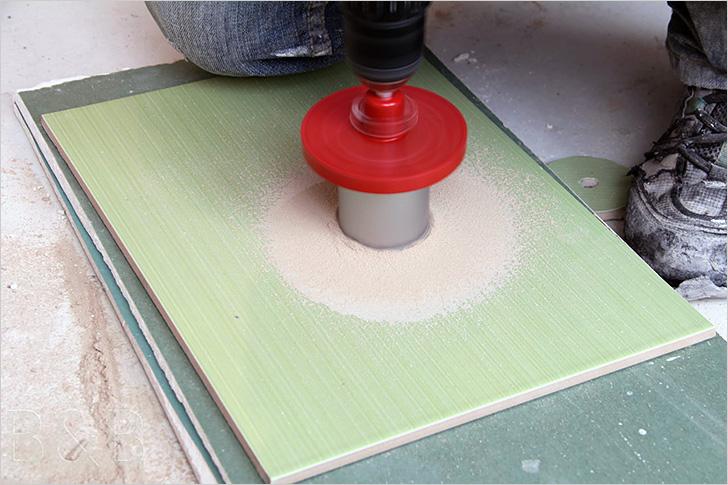 Как просверлить плитку в домашних условиях