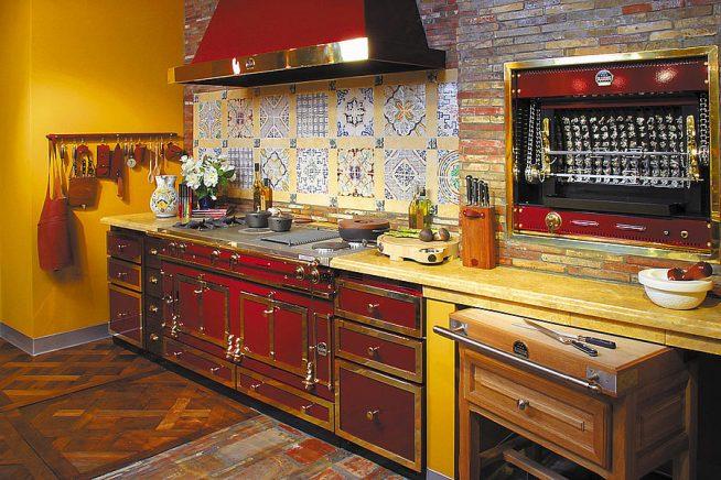 Кухня в английском стиле 20-х годов