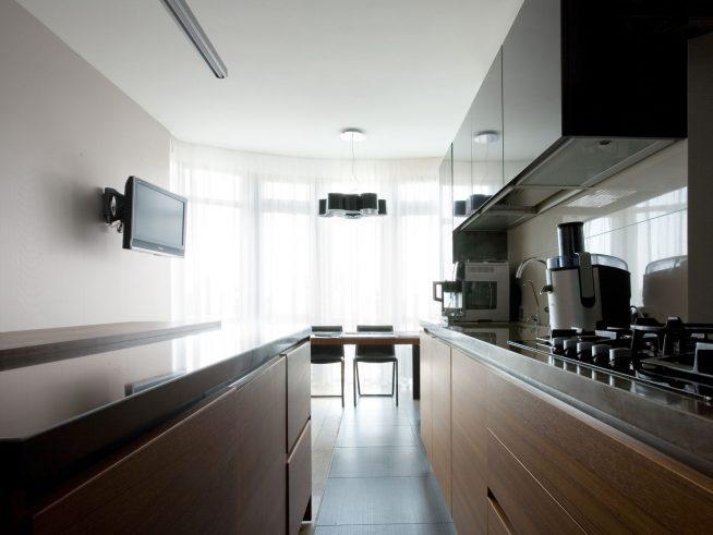 Отсутствие аксессуаров на кухне