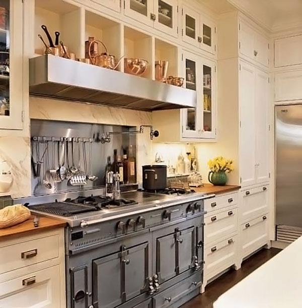 Плита на английской кухне