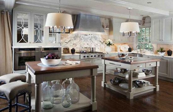 Кухня в деревенском стиле: дизайн интерьера и другие характерные особенности фото