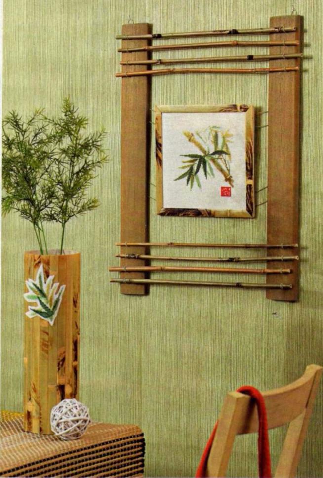 Ключница из бамбука своими руками