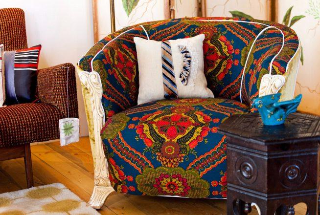 Кресло в стиле бохо