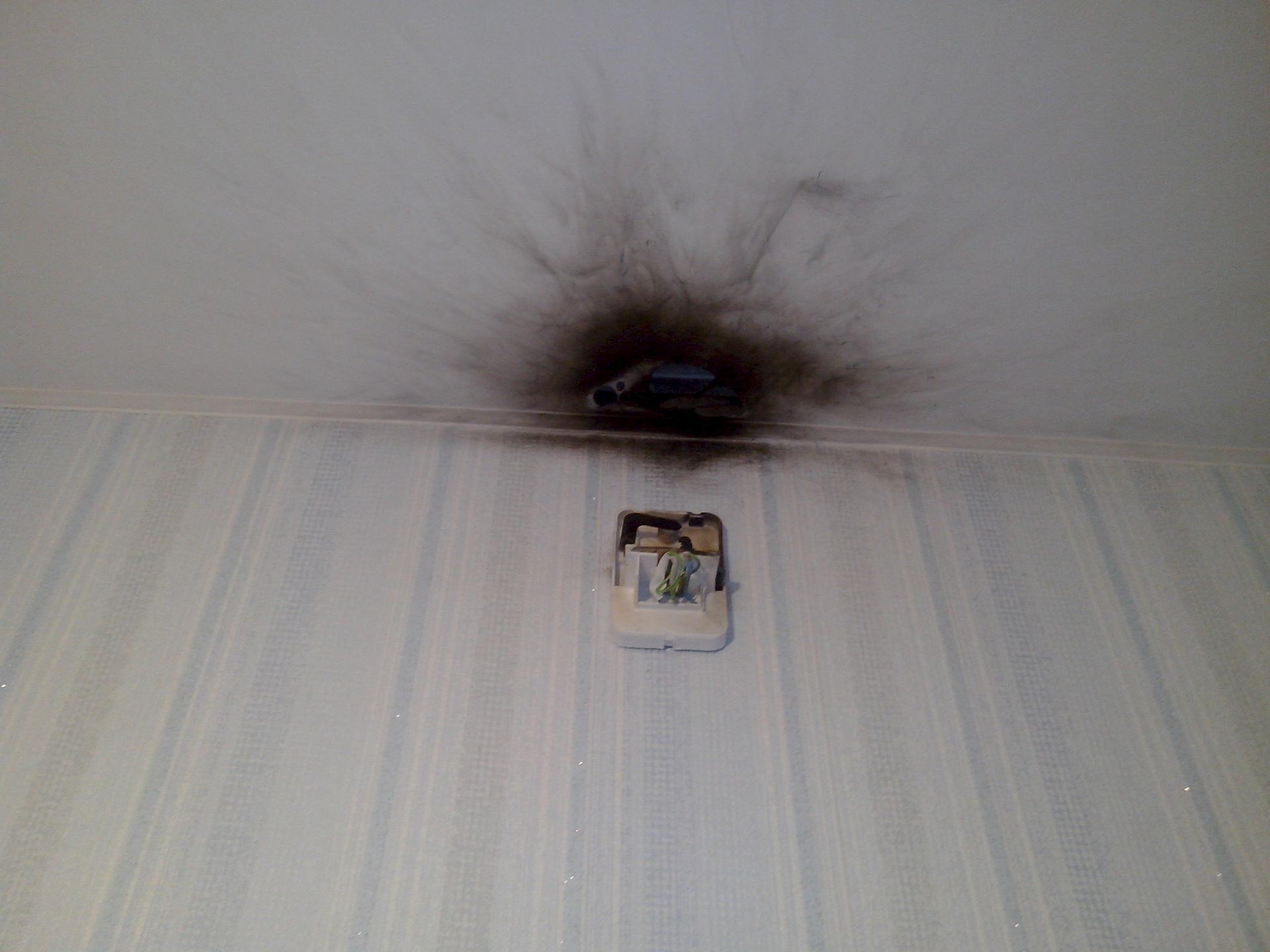 Дырка для светильников в натяжном потолке