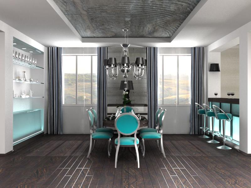 Комната в стиле фьюжн