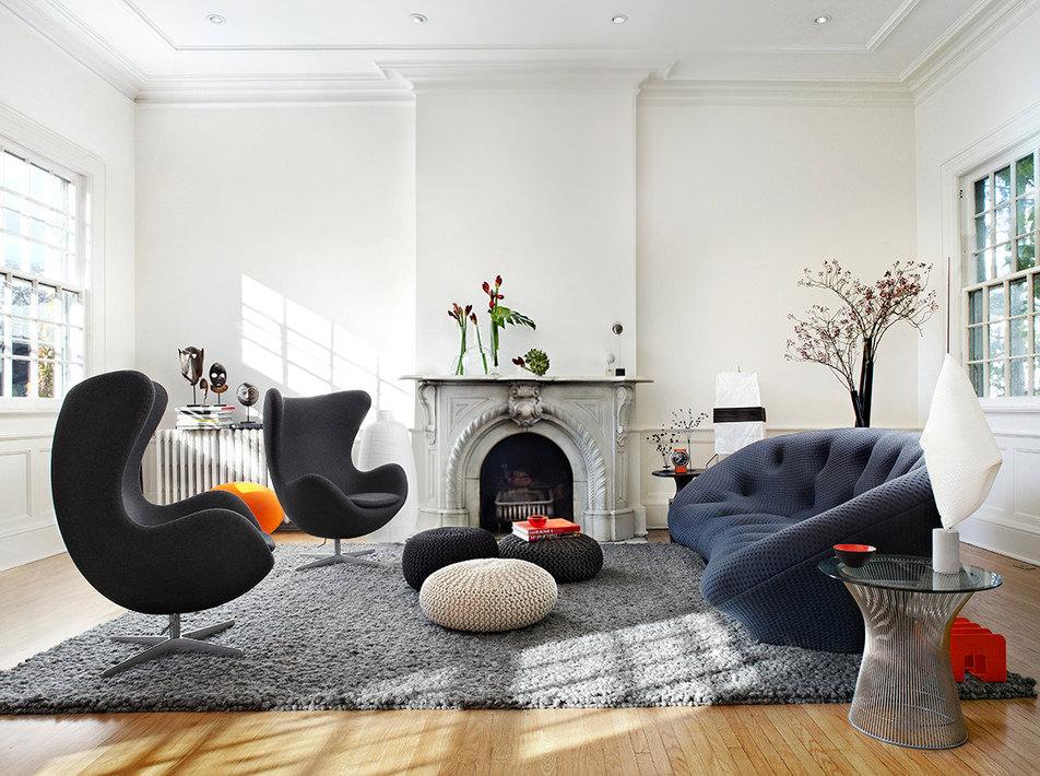 Стиль в интерьере в гостиной фото