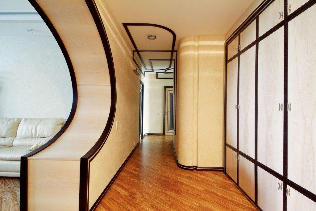 Дизайн арок в узком коридоре