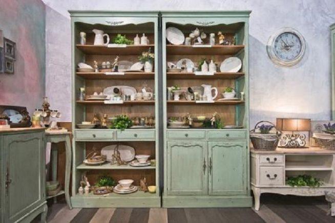 Кухонный гарнитур в стиле гранж
