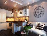 Оформление квартиры-студии