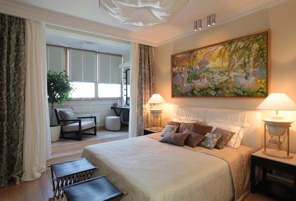 Дизайн комнаты с балконом в панельном доме: фото дизайна инт.