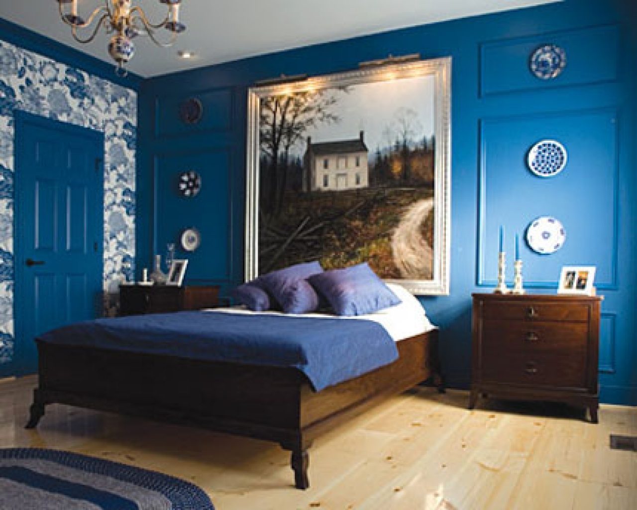 Best Navy Blue Paint Colors   View Along the Way