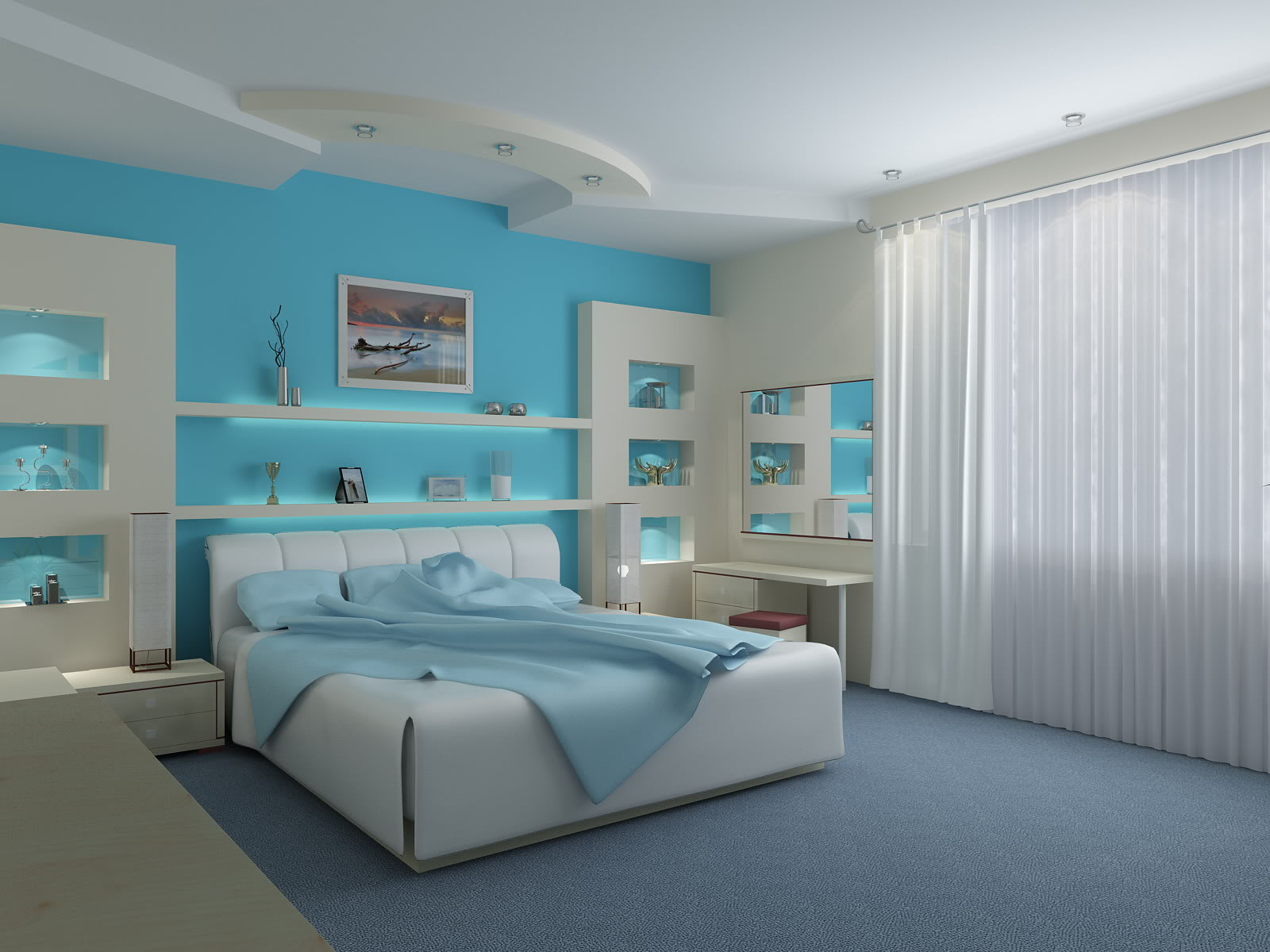 Фото спальня интерьер