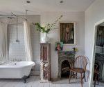Ванная комната в стиле шебби-шик