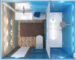Ванная комната сверху
