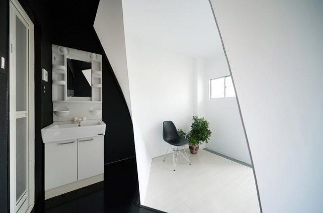 Нестандартный подход к дизайну однокомнатной квартиры