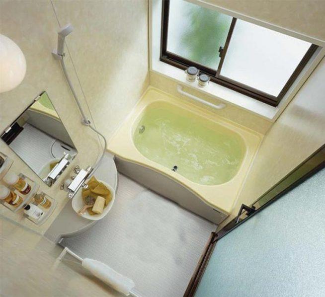 Дизайн маленькой ванной размером 3 м.кв