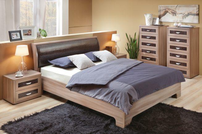 Спальный гарнитур с двухспальной кроватью