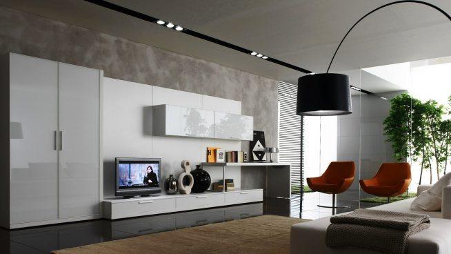Мебель в гостиной модерн