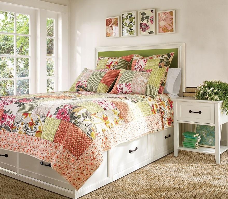 Для спальни в стиле пэчворк