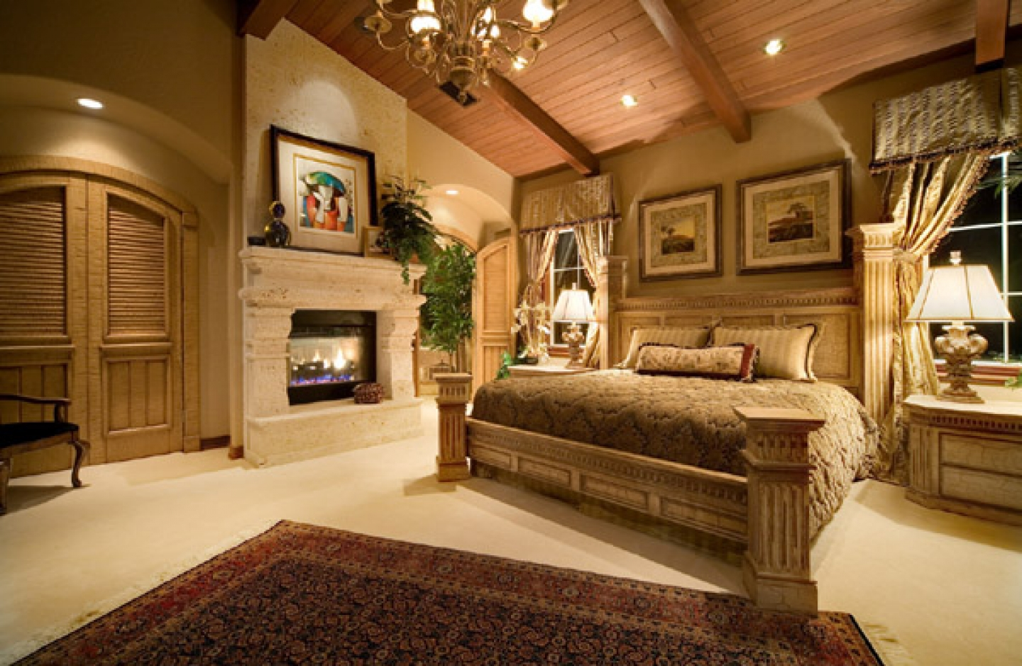 Cached Country cottage bedrooms pictures