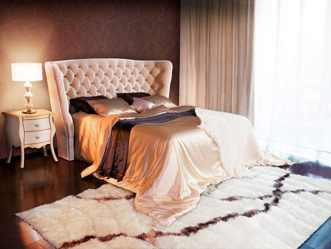 Спальня с двухспальной кроватью