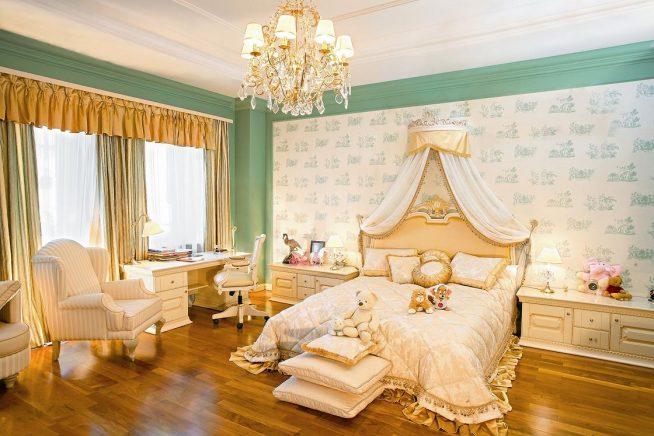 Спальня рококо