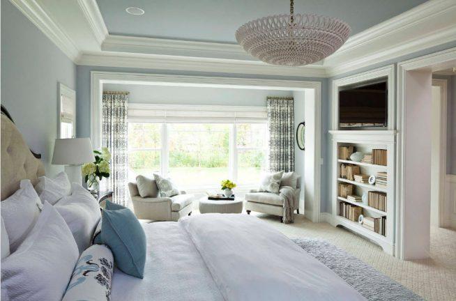 Спальня с зоной отдыха