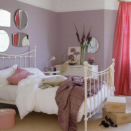 Дизайн спальни с железной кроватью 9 квм