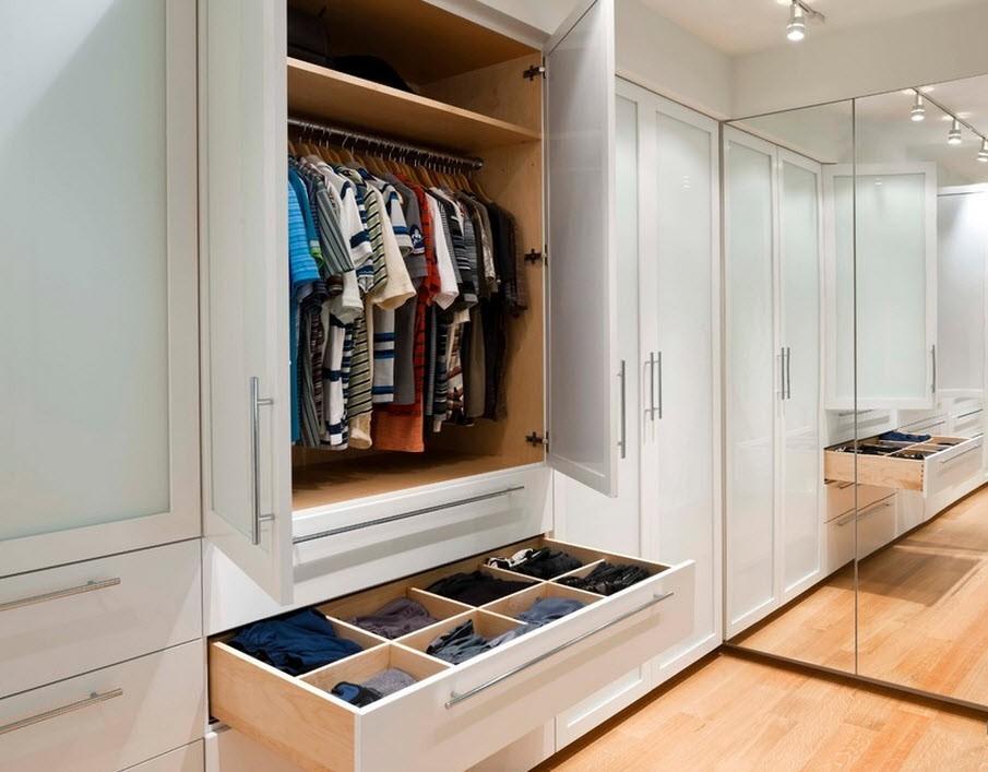 Шкафы встроенные купе в прихожую дизайн идеи размеры