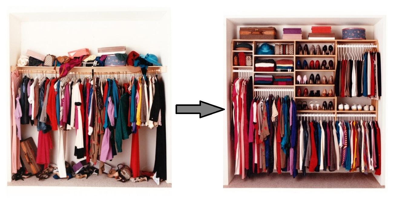 Составить для себя идеальный гардероб