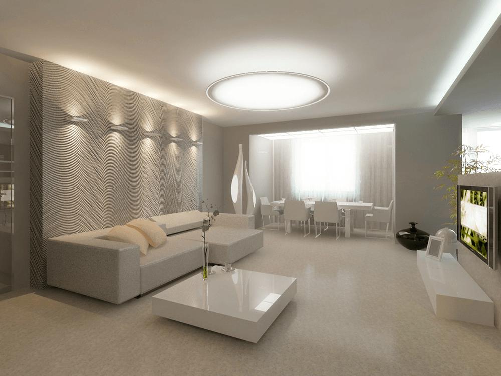 Дизайн интерьера помещений и ремонт квартир в Воронеже