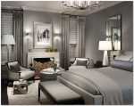 Американский стиль в интерьере спальни