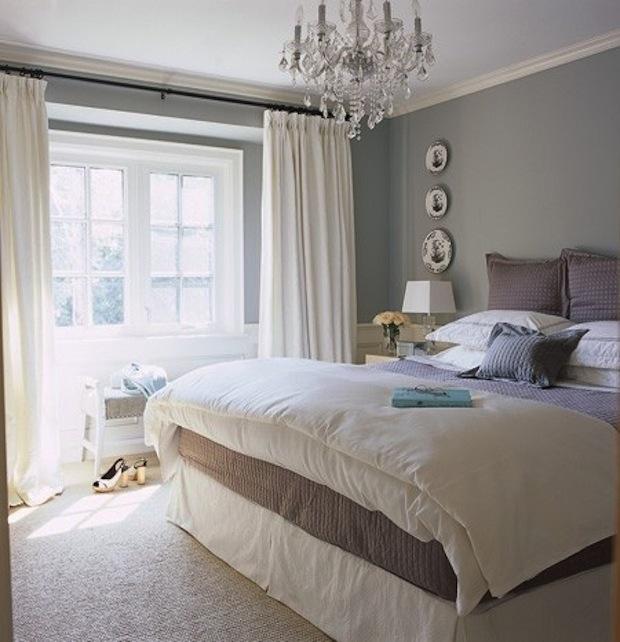 Красота серой спальни