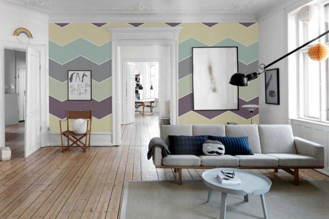 Оформление помещения с декором