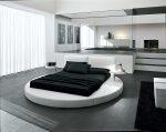 Спальня в стиле техно