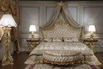 Текстиль в спальне барокко