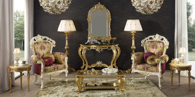 Барочный дизайн мебели