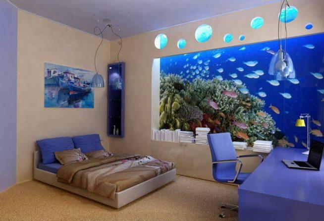 Имитация аквариума