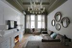 Интерьер небольшой гостиной в стиле современная классика