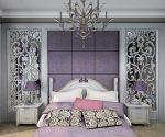 Необычные цвета в интерьере спальни