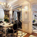 Неоклассический стиль в оформлении интерьера квартиры