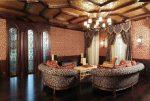 Барочная мебель в интерьере гостиной