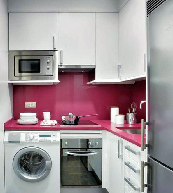 Планировка маленькой кухни
