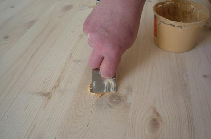 Подготовка деревянного кола