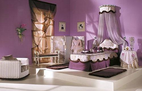 Дизайн интерьера детской комнаты для маленькой принцесски