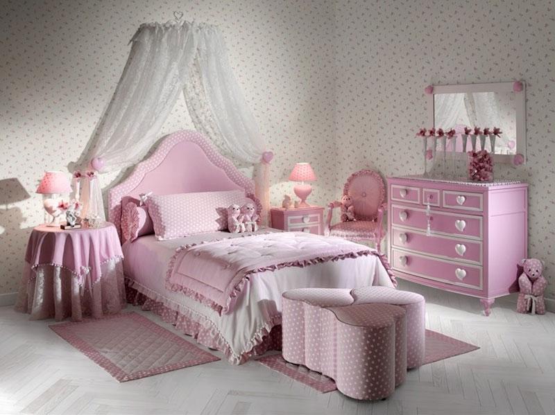 Дизайн уютной и просторной комнаты для девочки