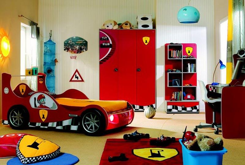 Готовая версия завершенного дизайна детской комнаты