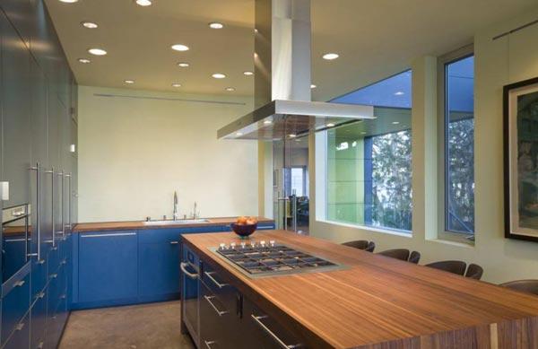 Какое должно быть освещение на кухне