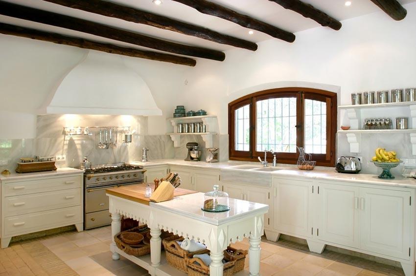 Стиль прованс воплощенный в кухне